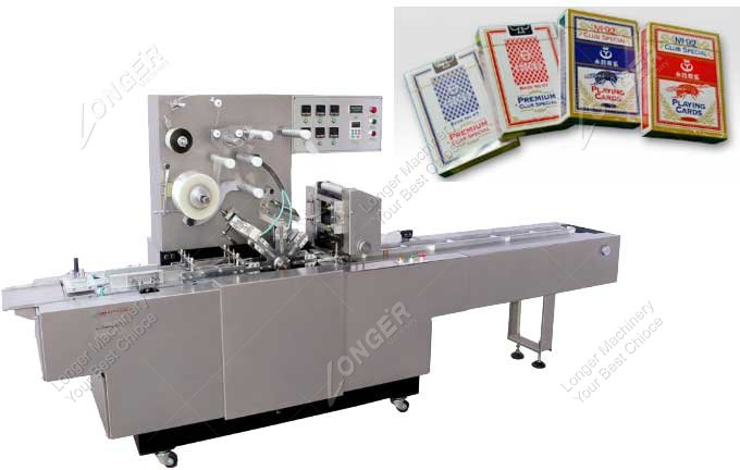 Commercial Poker Playing Card Wrapping Machine Price
