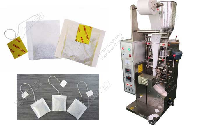 Herbal Tea Bag With Tag And String Packing Machine