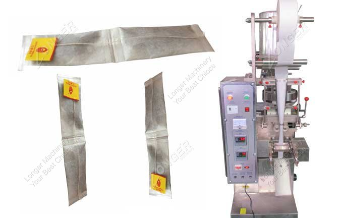 Double Chamber Tea Bag Packing Machine China Suppliers