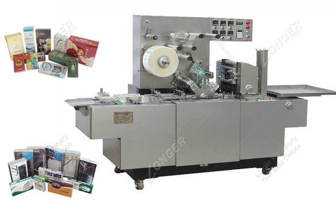 Industrial BOPP Cellophane Wrapping Machine For Sale