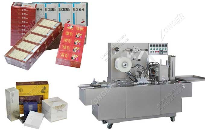 Small Cellophane Film Wrapping Machine Manufacturer