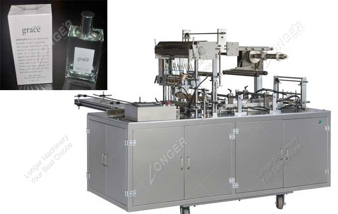 Adjustable Cellophane Wrapping Machine For Perfume For Sale