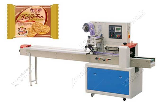 Entry Level Horizontal Flow Wrapper Machine For Sale