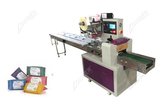Auto Round Soap Wrapping Machine