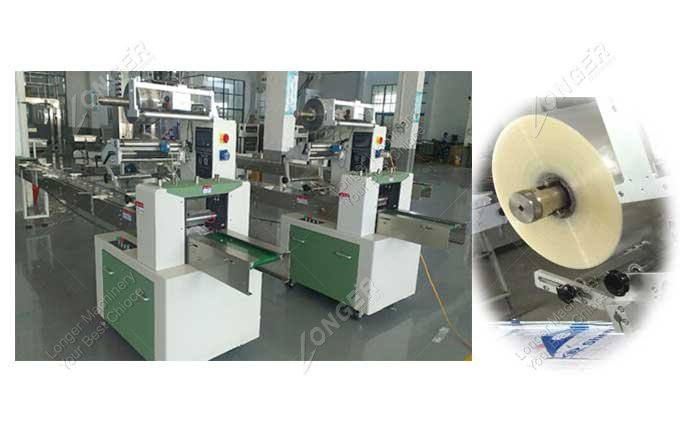 Round Soap Wrapping Machine For Sale