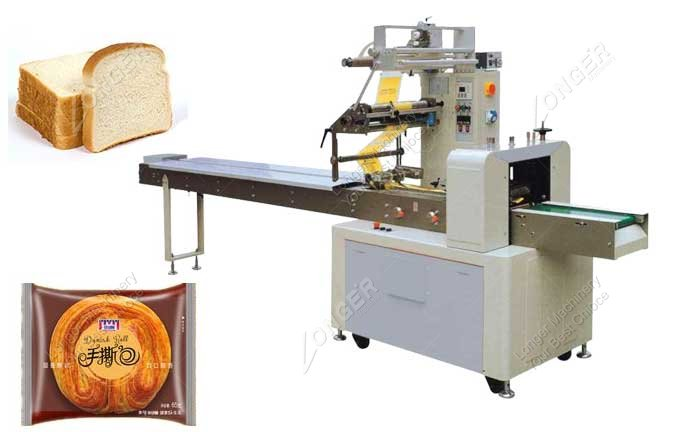 Small Automatic Horizontal Packaging Machine For Bread