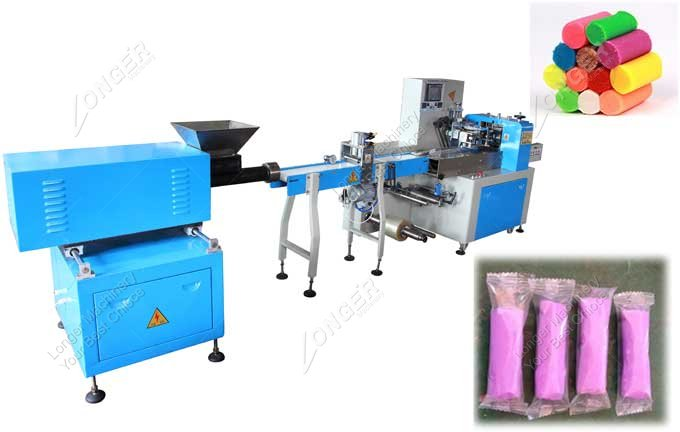 Plasticine Extruding And Packaging Machine For Sale