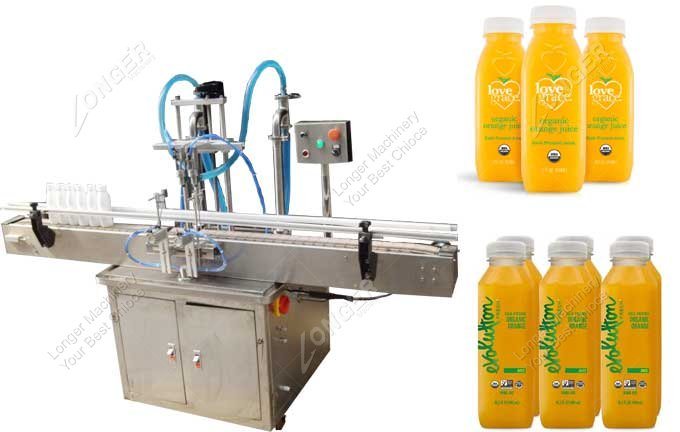 Industrial Orange Juice Filling And Capping Machine Manufacturers