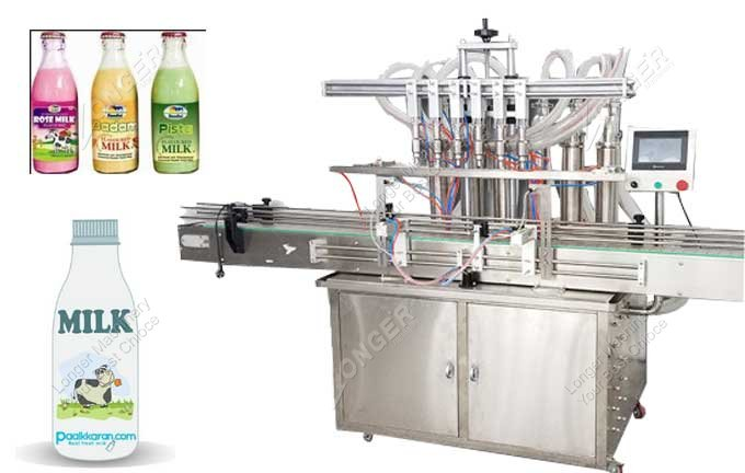 Glass Milk Bottle Filling And Sealing Machine Price