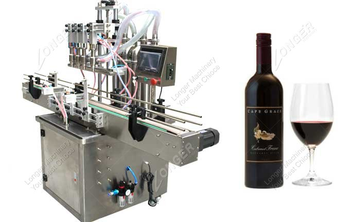 Automatic Wine Bottle Filling Machine For Sale