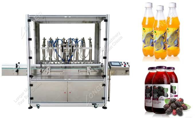 Auto Carbonated Beverage Can Filling Machine Specifications