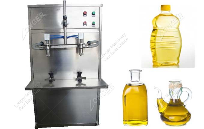 Automatic Edible Oil Filing Machine