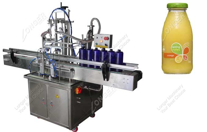 Juice Filling Capping Machine