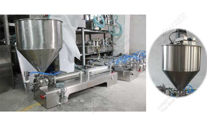 Semi Automatic Hand Operated Paste Filling Machine