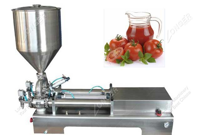 Semi Automatic Hand Operated Paste Filling Machine For Sale
