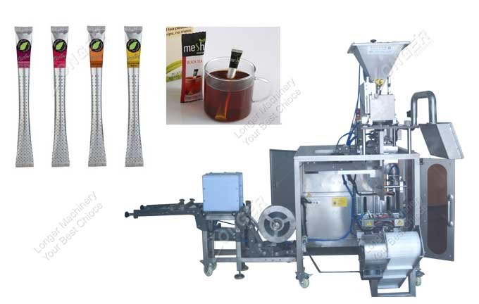 Industrial Coffee And Tea Stick Packing Machine With Holes