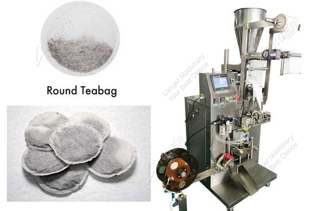 Italy Round Shape Tea And Coffee Pod Packing Machine
