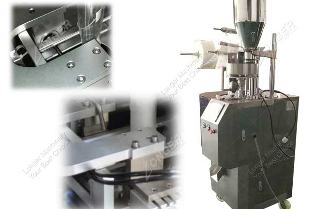 Pyramid Tea Bag Packing Machine For Small Business For Sale