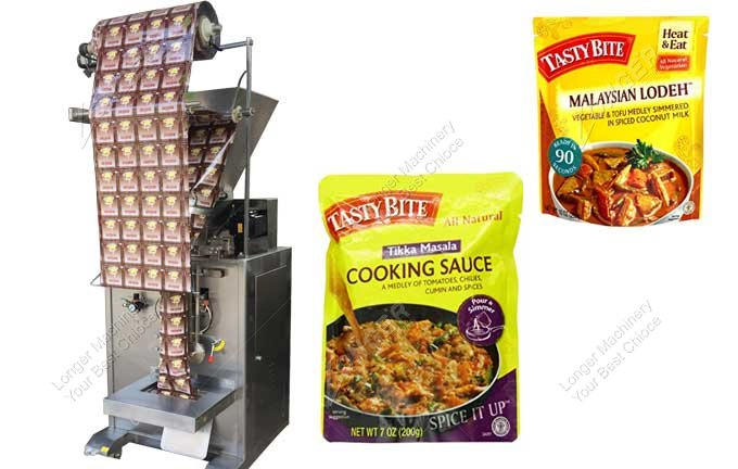 Small Fully Automatic Masala Pouch Packing Machine For Sale