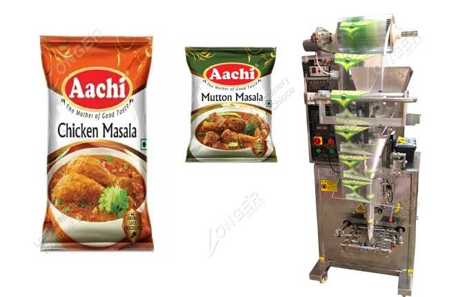 Small Fully Automatic Masala Pouch Packing