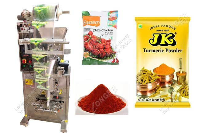 Small Spice Powder Pouch Packing Machine Manufacturer