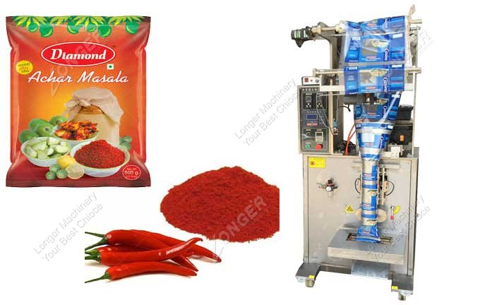 Fully Automatic Red Chili Powder Packing Machine Video