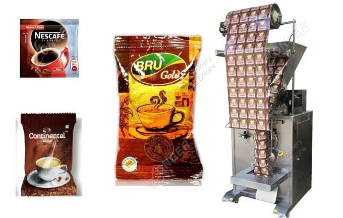 Instant Coffee Powder Packing Machine