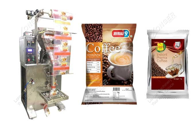 Coffee Powder Weigh And Fill Machine