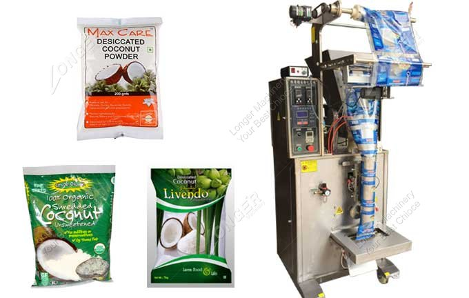 Automatic Desiccated Coconut Powder Packing Machine