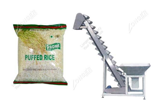 Puffed Rice Packing Machine For Sale