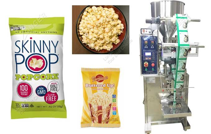 Automatic Vertical Packing Machine For Popcorn For Sale