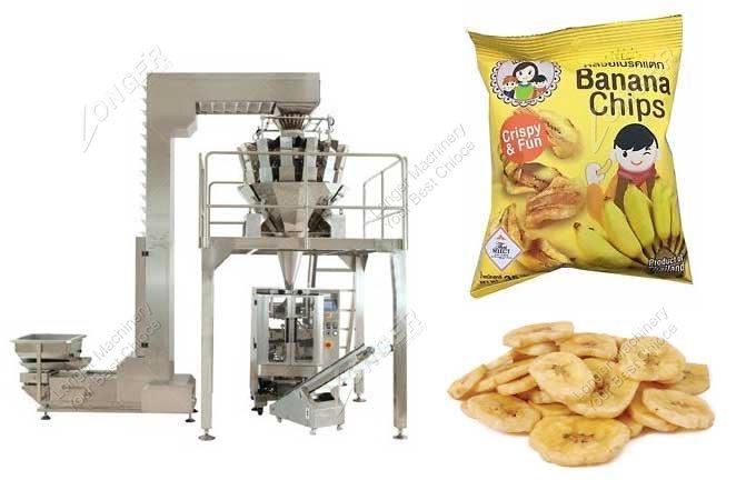 Automatic Plantain Banana Chips Packing Machine Price