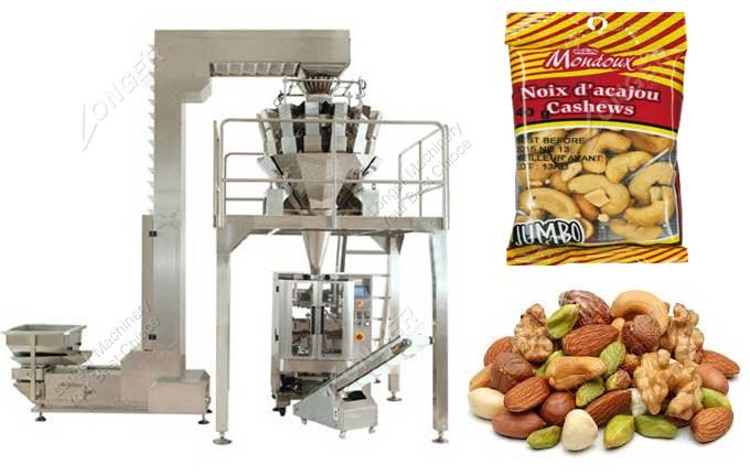Automatic Cashew Nut And Betel Nut Packing Machine