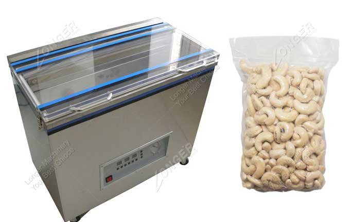 Compact Cashew Nut Vacuum Packing Machine Manufacturer