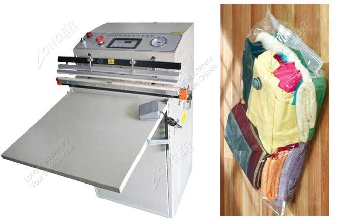 Small Vacuum Packing Machine For Clothes