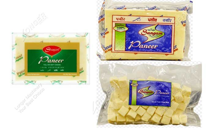 Paneer Vacuum Packing Machine Samples