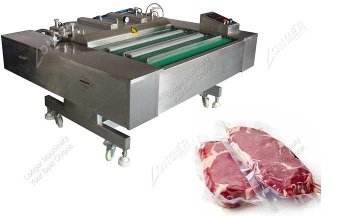 Buy Continuous Vacuum Packing Machine For Meat