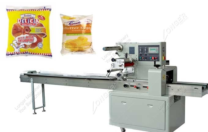 Sold Horizontal Flow Wrapping Machine To Taiwan