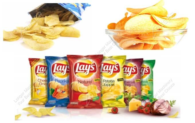 Automatic Potato Chips Packing Machine Samples