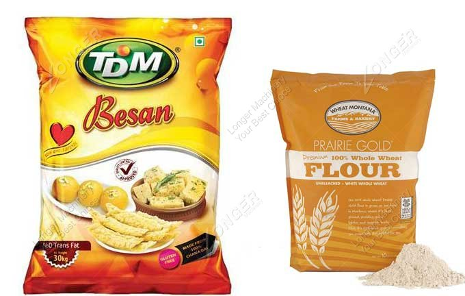 Wheat Flour Packing Machine Samples