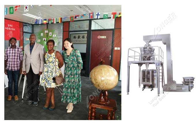 Plantain Chips Packing Machine Sold To Nigeria