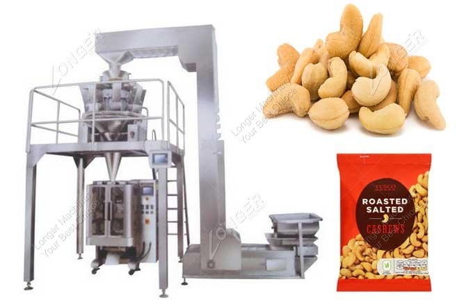 Automatic Nut Packing Machine