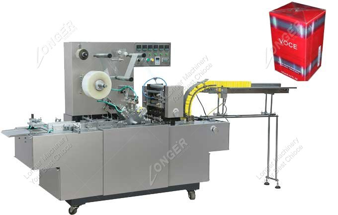Small Cellophane Wrapping Machine